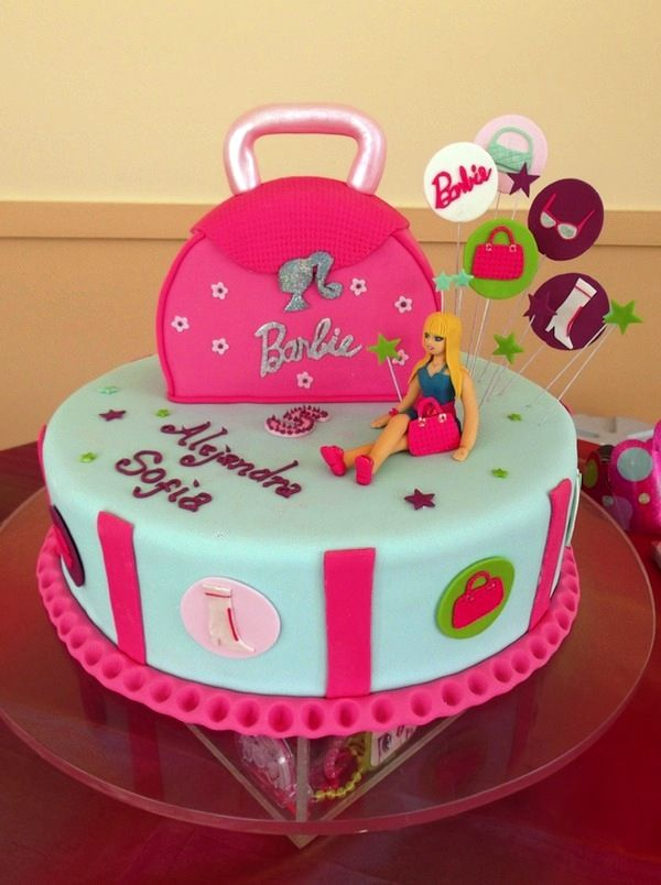 Order Barbie Cake Online Barbie Cake Delivery From Wish A Flower