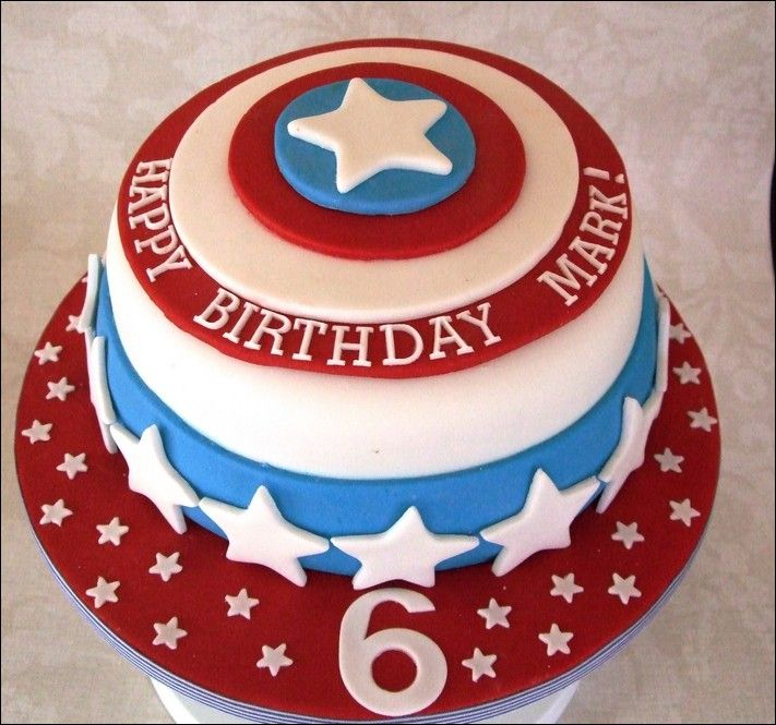 Order Captain America Cake Online Delivery