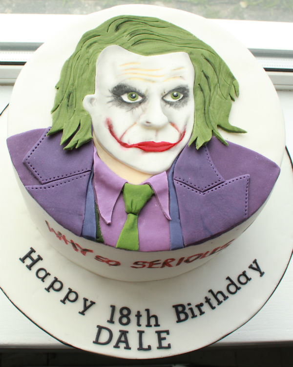Order Joker Cake Online Delivery From Wish A Flower